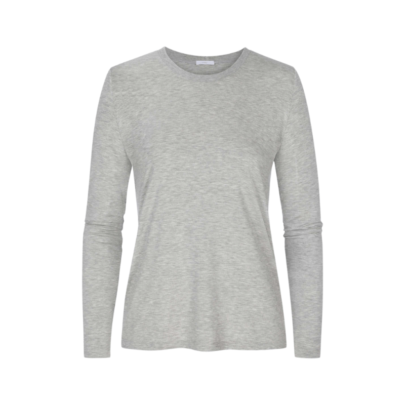 MEY-16000-519- Maglia manica lunga serie Sleepy & Easy - grigio