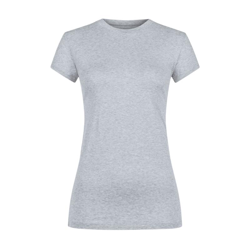 MEY-26501-620- Maglia manica corta serie Cotton Pure - grigio