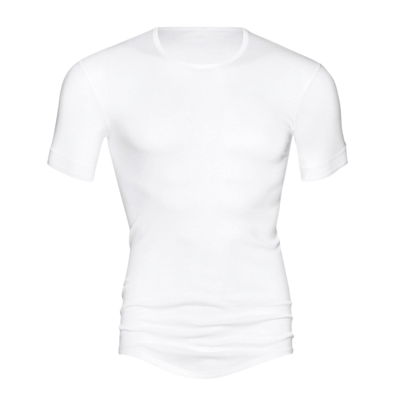 MEY-2802-101- Maglia uomo mezza manica serie Noblesse - bianco
